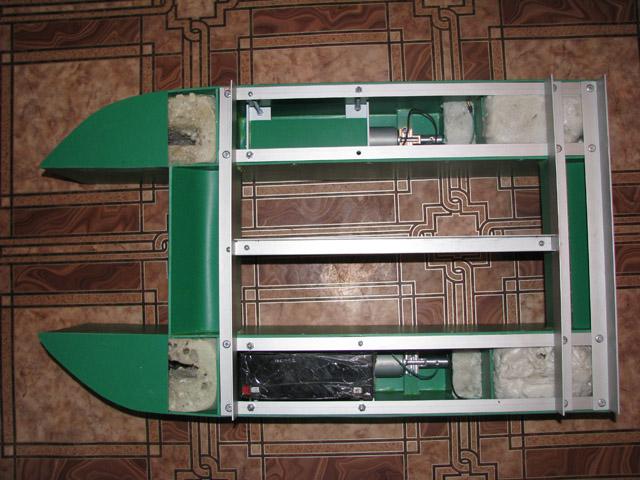 Чертежи кораблика для завоза прикормки своими руками 2